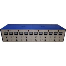 Аккумуляторный комплекс (аккумуляторная станция) ЗУ-2-6Б(ЗР) - Зарядно-разрядное устройство на 6 каналов