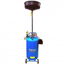 Установка для слива и откачки отработанного масла с воронкой и щупами TEMP TOC-265