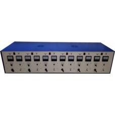 Аккумуляторный комплекс (аккумуляторная станция) ЗУ-2-6(ЗР) - Зарядно-разрядное устройство на 6 каналов