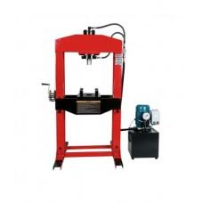 Пресс электрогидравлический напольный T61375 Jinteng, 75т с манометром
