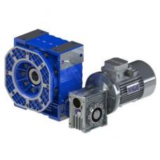 Двухступенчатый червячный мотор-редуктор DRV-S 050/110