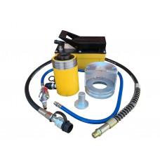 Съемник пневмо-гидравлический для демонтажа рулевых тяг грузовых автомобилей ТТН-22П