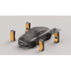 Бесконтактные скоростные линии проездного контроля Техно Вектор 8 SMARTLIGHT T 8214