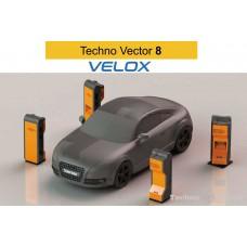 Бесконтактные скоростные линии проездного контроля Техно Вектор 8 T 8214 VELOX