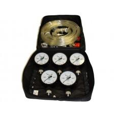 Прибор для проверки пневмопривода тормозов М100